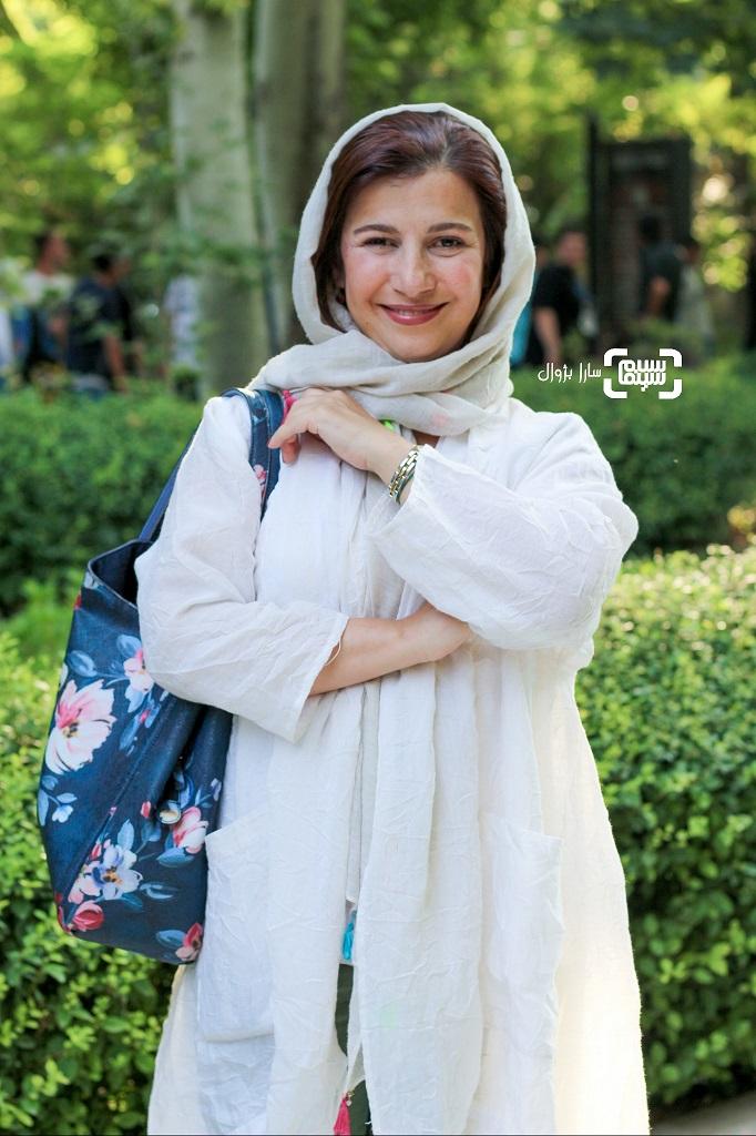 عکس لیلی رشیدی در اکران خصوصی «رضا»