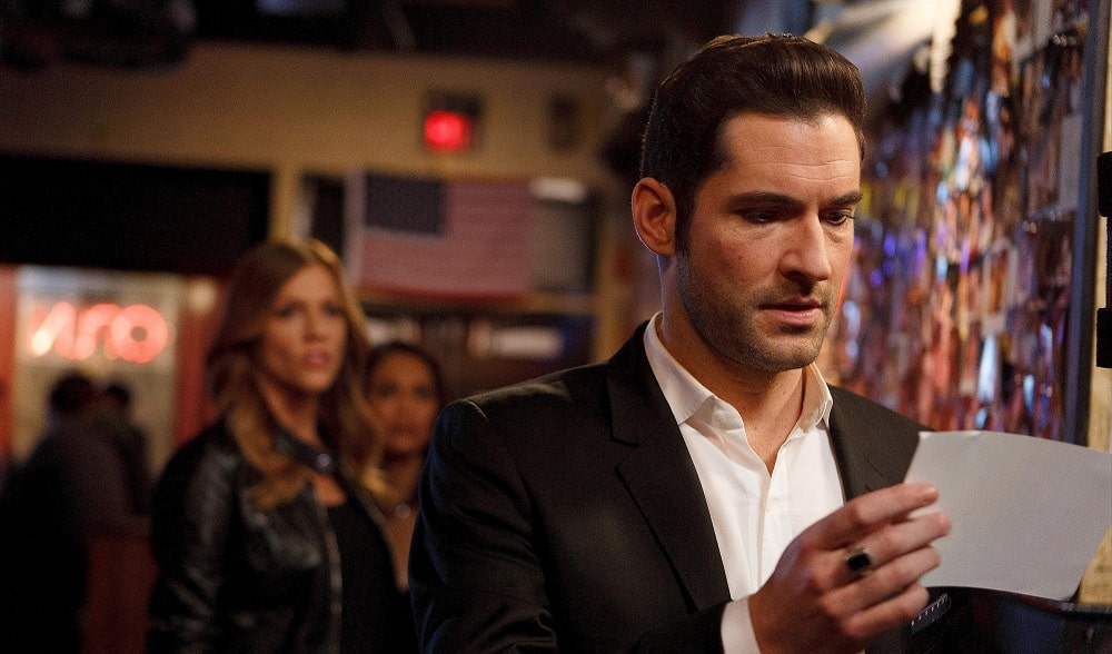 تام الیس در فصل دوم سریال لوسیفر (Lucifer)
