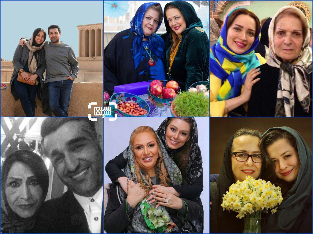 گزارش تصویری اینستاگرامی روز زن و مادر بازیگران و هنرمندان