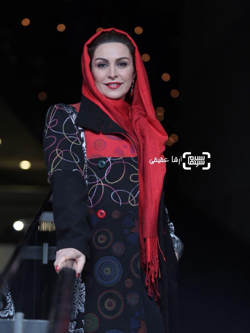 ماه چهره خلیلی در اکران فیلم «دارکوب» در کاخ رسانه جشنواره فیلم فجر36