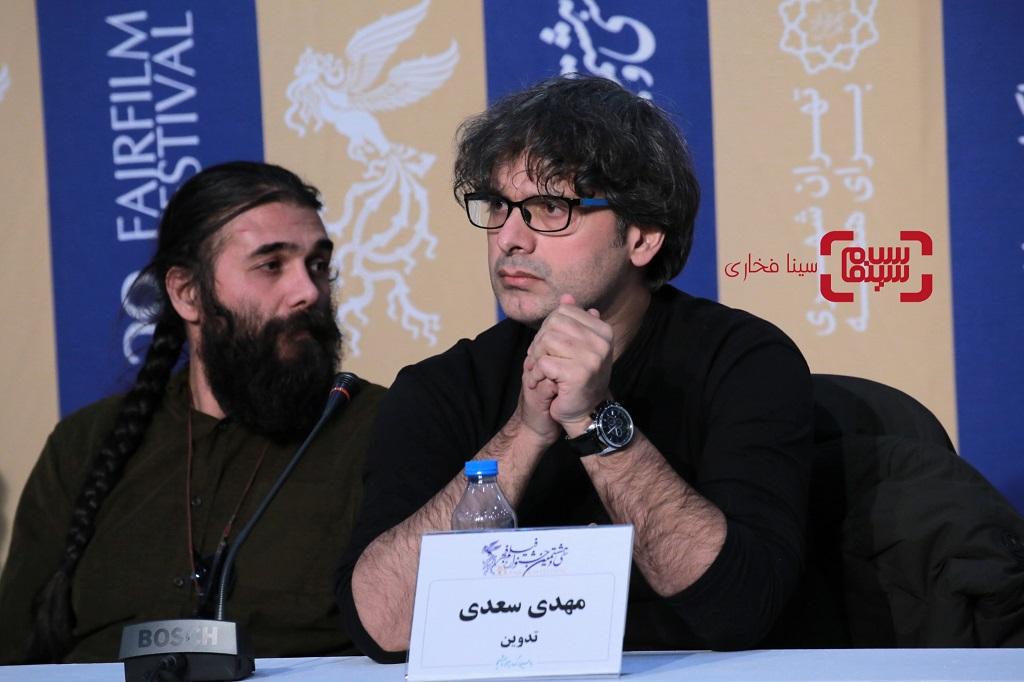 مهدی سعیدی- گزارش نشست خبری «تومان» - گزارش تصویری