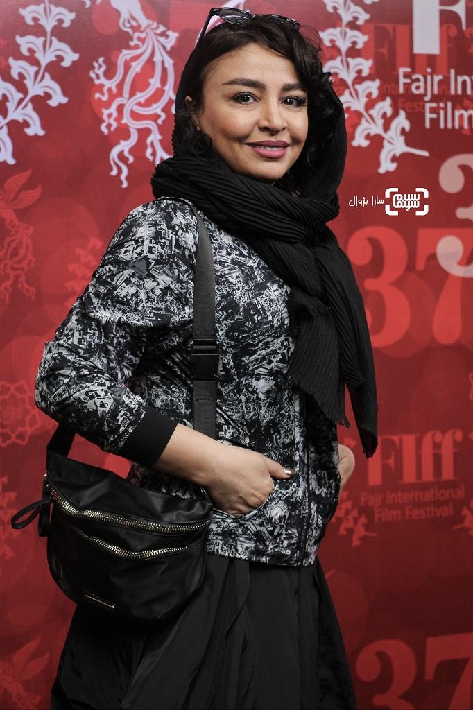 عکس مه لقا باقری در روز اول سی و هفتمین جشنواره جهانی فیلم فجر