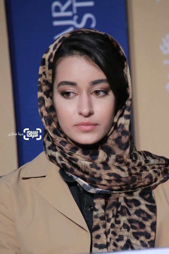 مه لقا مینوش زاد- گزارش تصویری- نشست خبری فیلم «آتابای» - جشنواره فیلم فجر 38