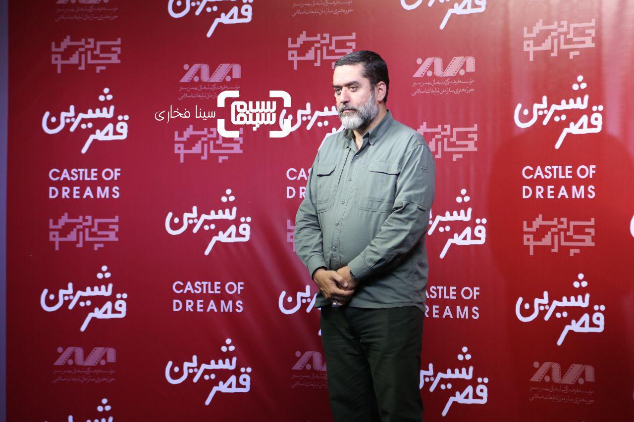 عکسسیدمحمود رضوی در اکران خصوصی فیلم «قصر شیرین»