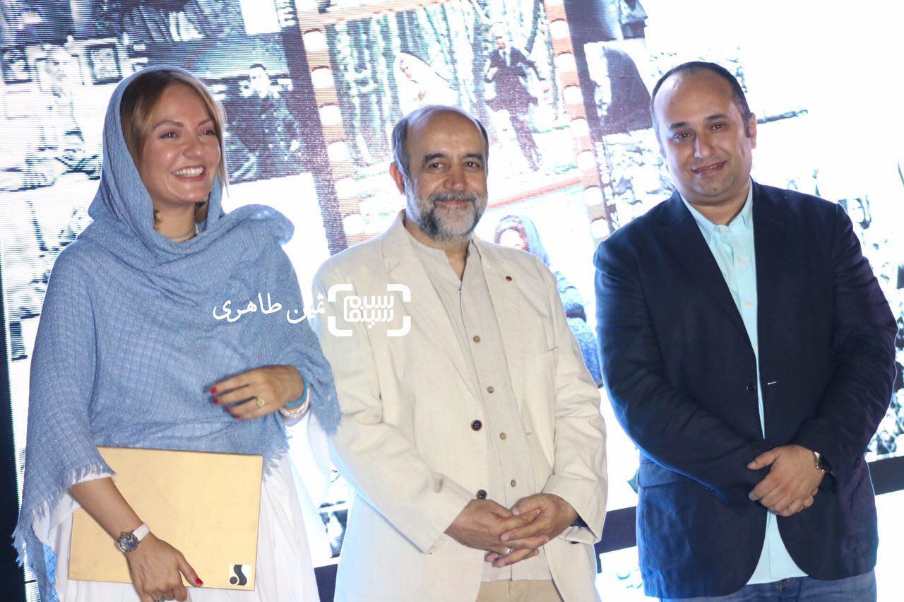 سومین جشن عکاسان سینمای ایران- مازیار میری - مهناز افشار