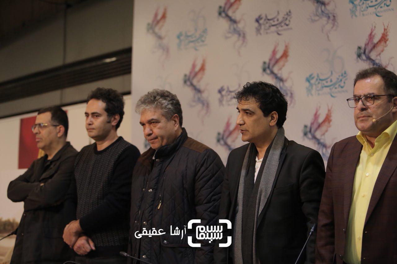 نشست خبری فیلم «ماهورا» در سی و ششمین جشنواره فیلم فجر