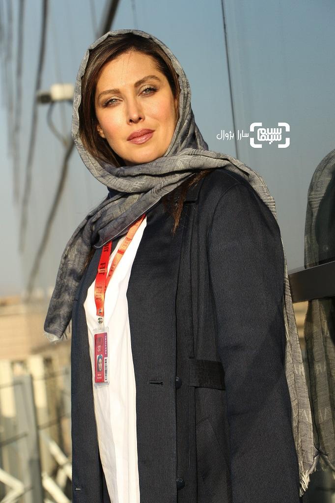 مهتاب کرامتی در روز دوم سی و هفتمین جشنواره جهانی فیلم فجر