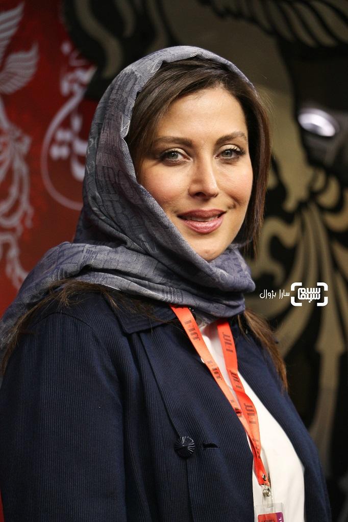 عکس مهتاب کرامتی سی و هفتمین جشنواره جهانی فیلم فجر