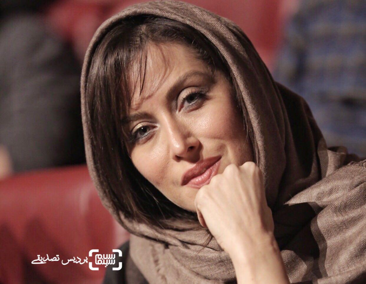 مهتاب کرامتی در اختتامیه جشنواره فیلم کوتاه تهران