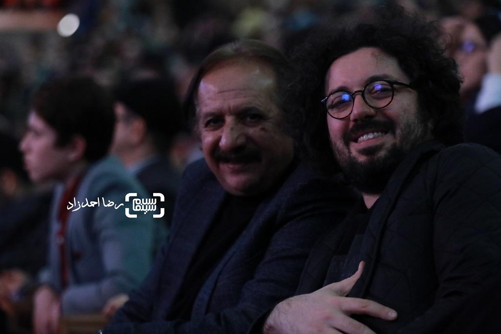 مجید مجیدی - هومن بهمنش - اختتامیه جشنواره فیلم فجر 38 - گزارش تصویری(بخش دوم)