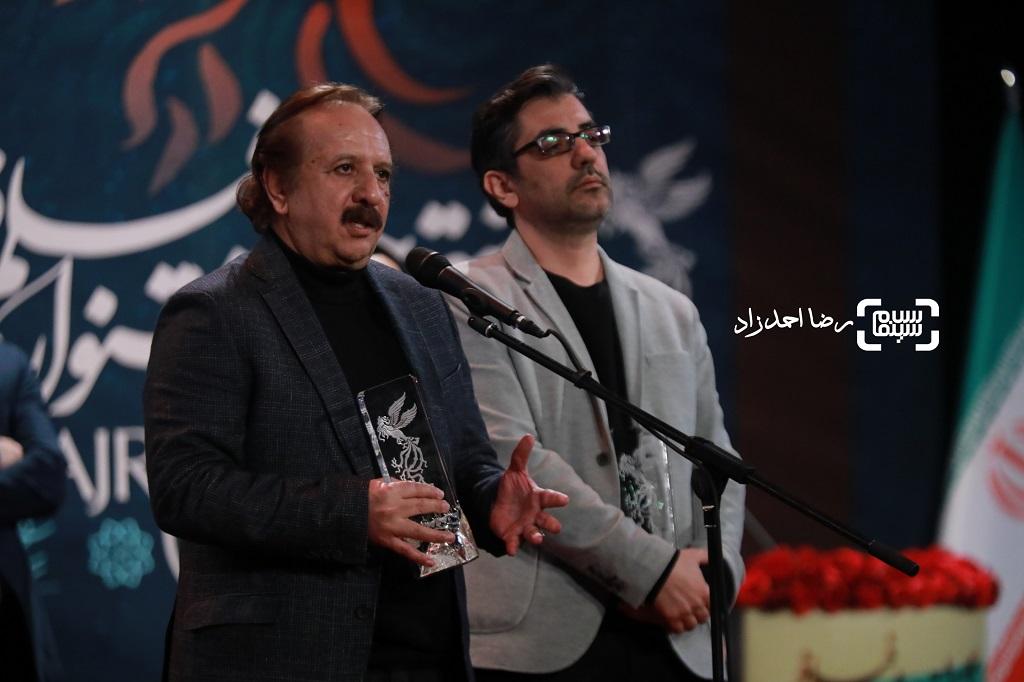 مجید مجیدی - نیما جاویدی - گزارش تصویری - اختتامیه جشنواره فیلم فجر 38(بخش اول)