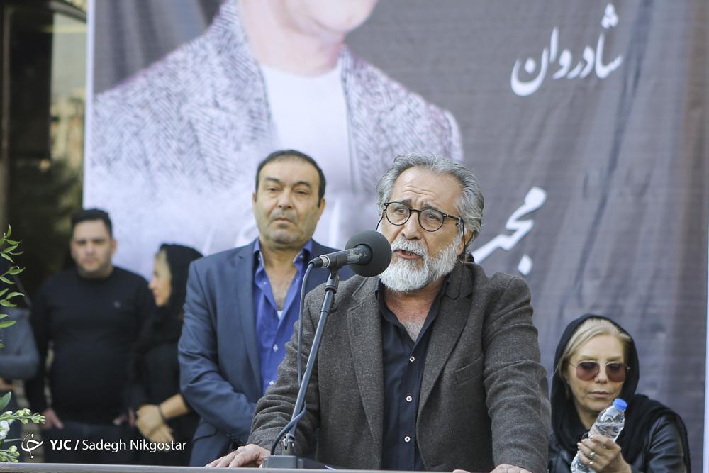مراسم تشییع پیکر زنده یاد مجید اوجی