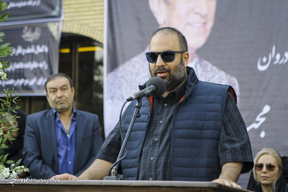 گزارش تصویری از مراسم تشییع پیکر مجید اوجی - علی اوجی