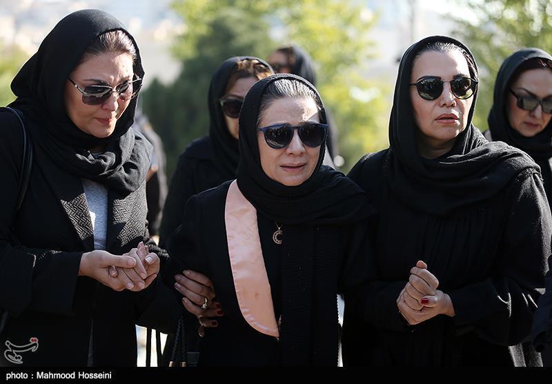 گزارش تصویری از مراسم تشییع پیکر زنده یاد مجید اوجی