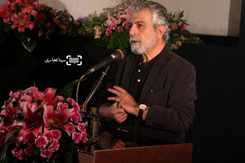 منوچهر شاهسواری در مراسم تقدیر از اصغر فرهادی