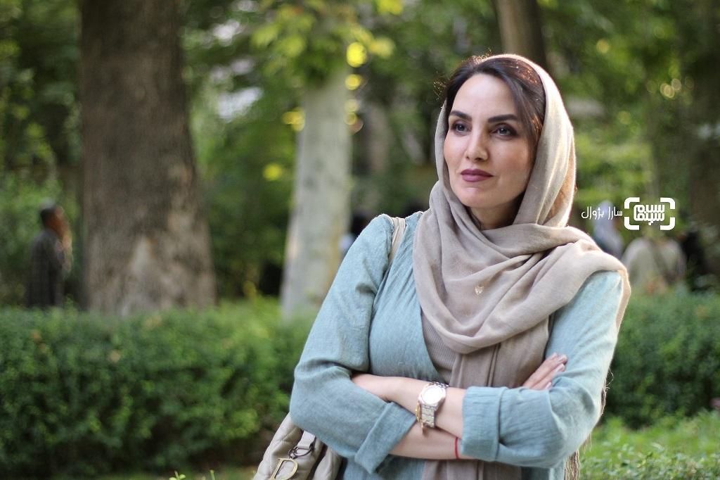عکس مرجان شیرمحمدیدر اکران خصوصی فیلم «رضا»