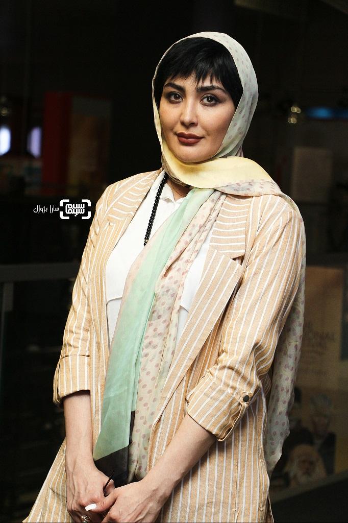 مریم معصومی در روز دوم سی و هفتمین جشنواره جهانی فجر
