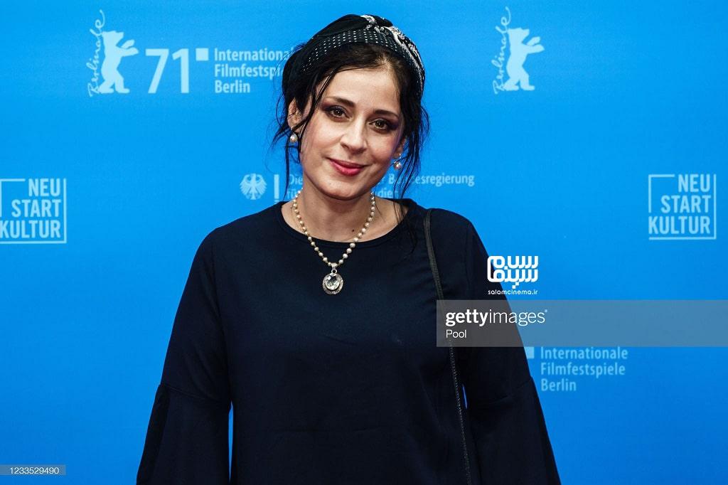 مریم مقدم در اکران فیلم سینمایی قصیده گاو سفید در جشنواره فیلم برلین