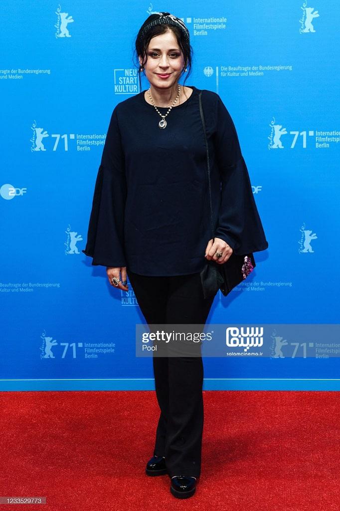 مریم مقدم در اکران قصیده گاو سفید در جشنواره فیلم برلین