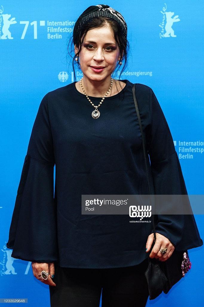 مریم مقدم - اکران فیلم  قصیده گاو سفید - جشنواره فیلم برلین