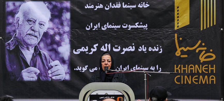 مراسم تشییع پیکر نصرت الله کریمی+ گزارش تصویری