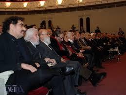 مسعود کیمیایی - دیدار هنرمندان و حسن روحانی