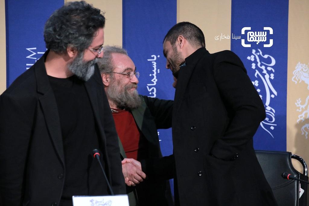 مسعود فراستی - سعید ملکان - امیر جدیدی - نشست خبری فیلم «روز صفر» در جشنواره فجر 38