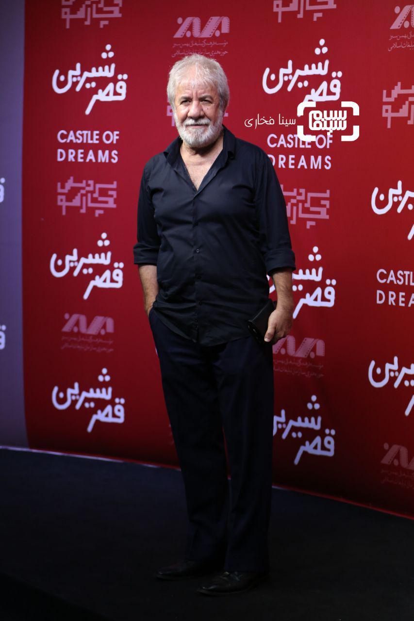 عکس مسعود کرامتی در اکران خصوصی فیلم «قصر شیرین»