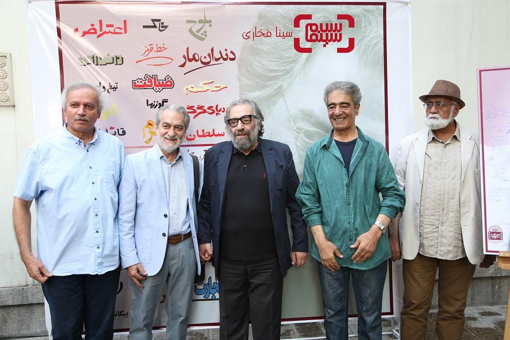 هنرمندان جشن تولد 78 سالگی مسعود کیمیایی/ گزارش تصویری