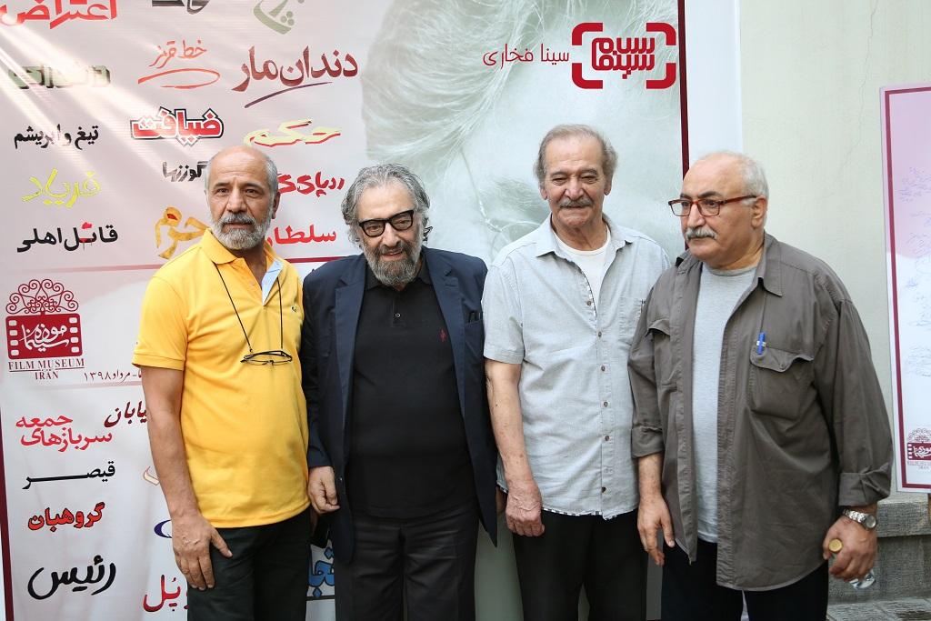 موزه سینما جشن تولد 78 سالگی مسعود کیمیایی/ گزارش تصویری