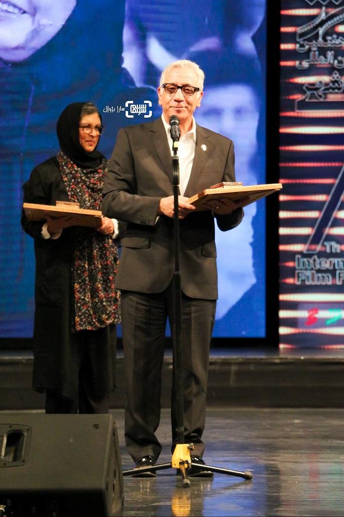 مسعود رایگان اختتامیه هفتمین جشنواره فیلم شهر
