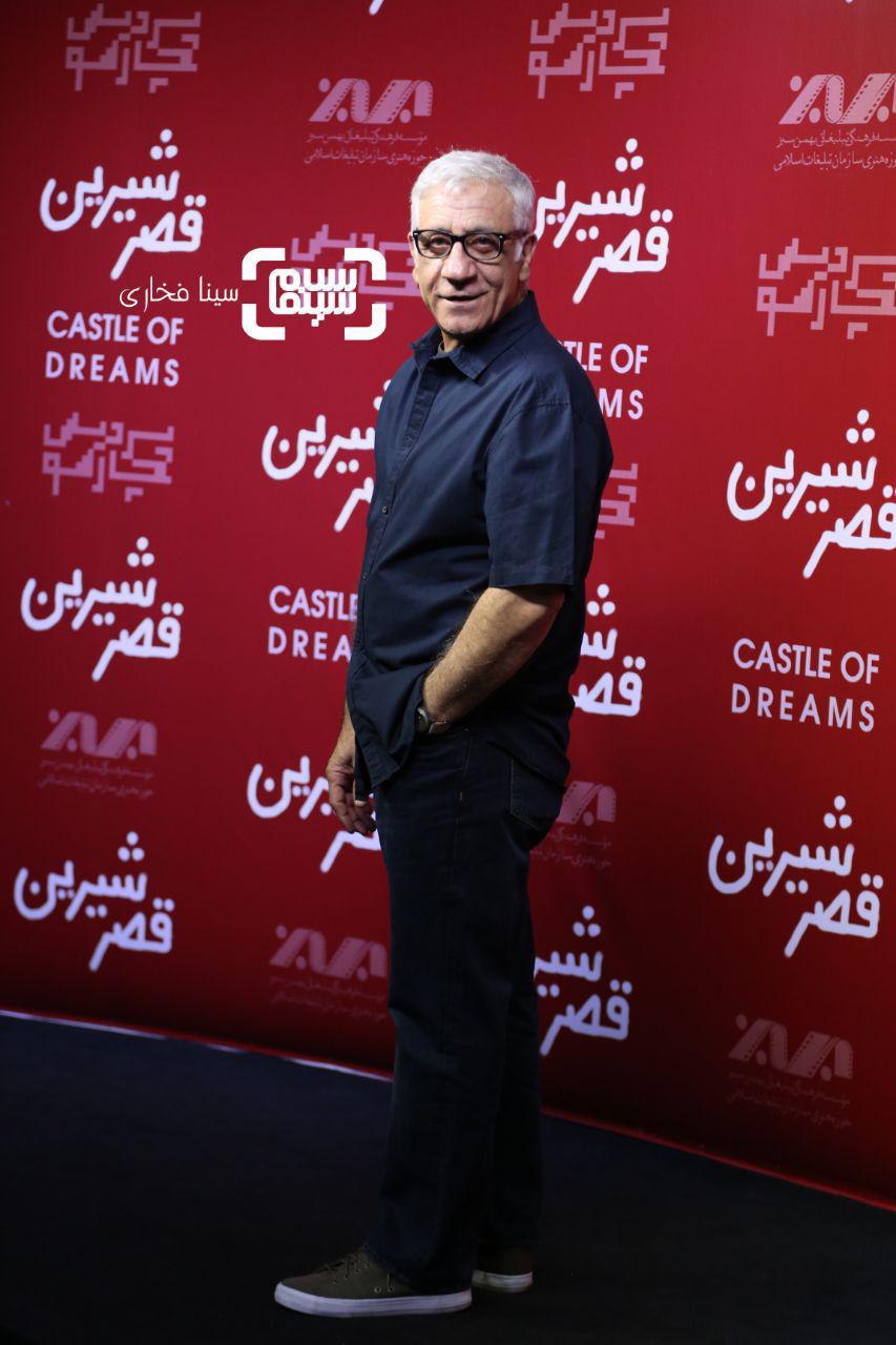 عکس مسعود رایگان در اکران خصوصی فیلم «قصر شیرین»