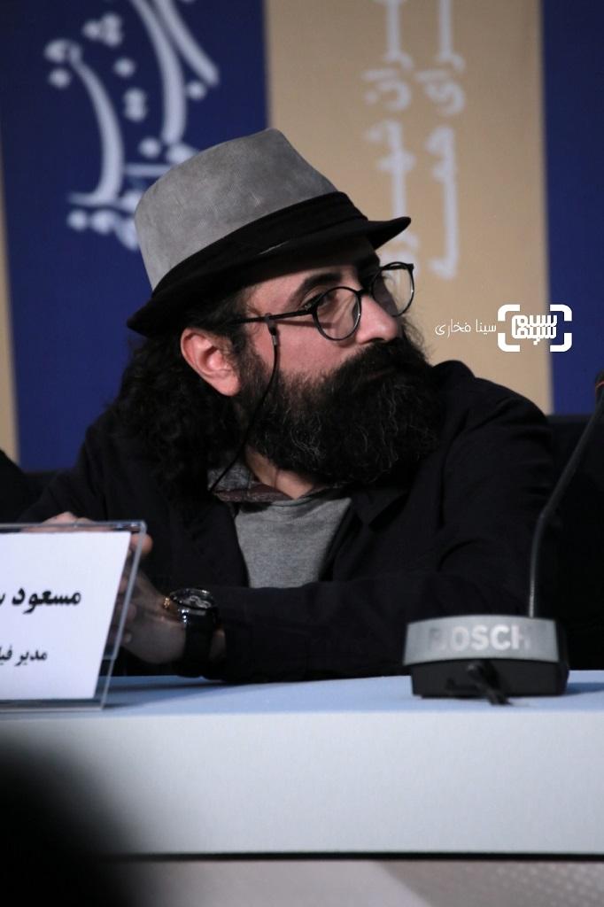 مسعود سلامی - نشست خبری فیلم «سه کام حبس» در جشنواره فیلم فجر 38