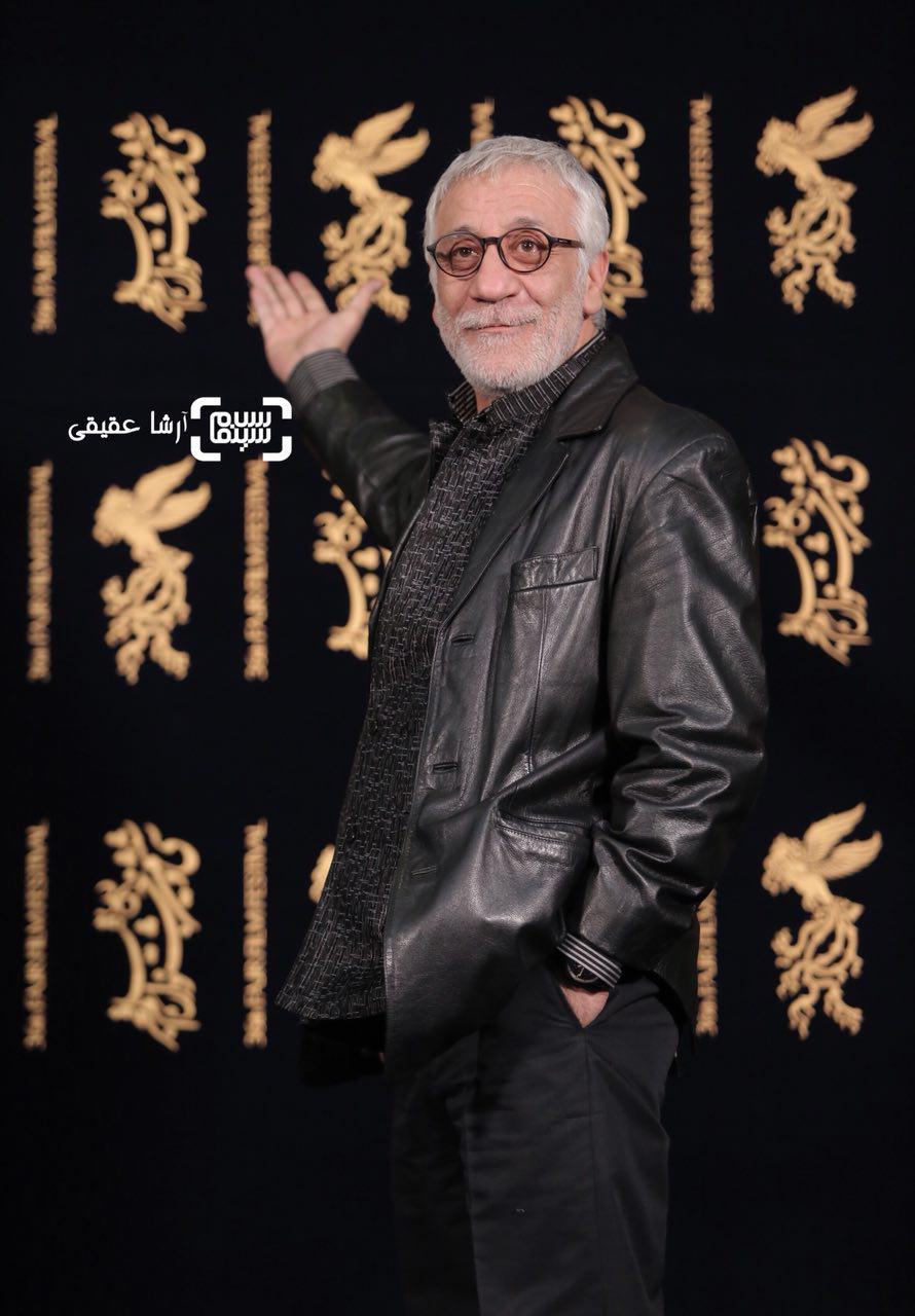 مسعود رایگان در نشست خبری «سرو زیر آب» در کاخ رسانه سی و ششمین جشنواره فیلم فجر