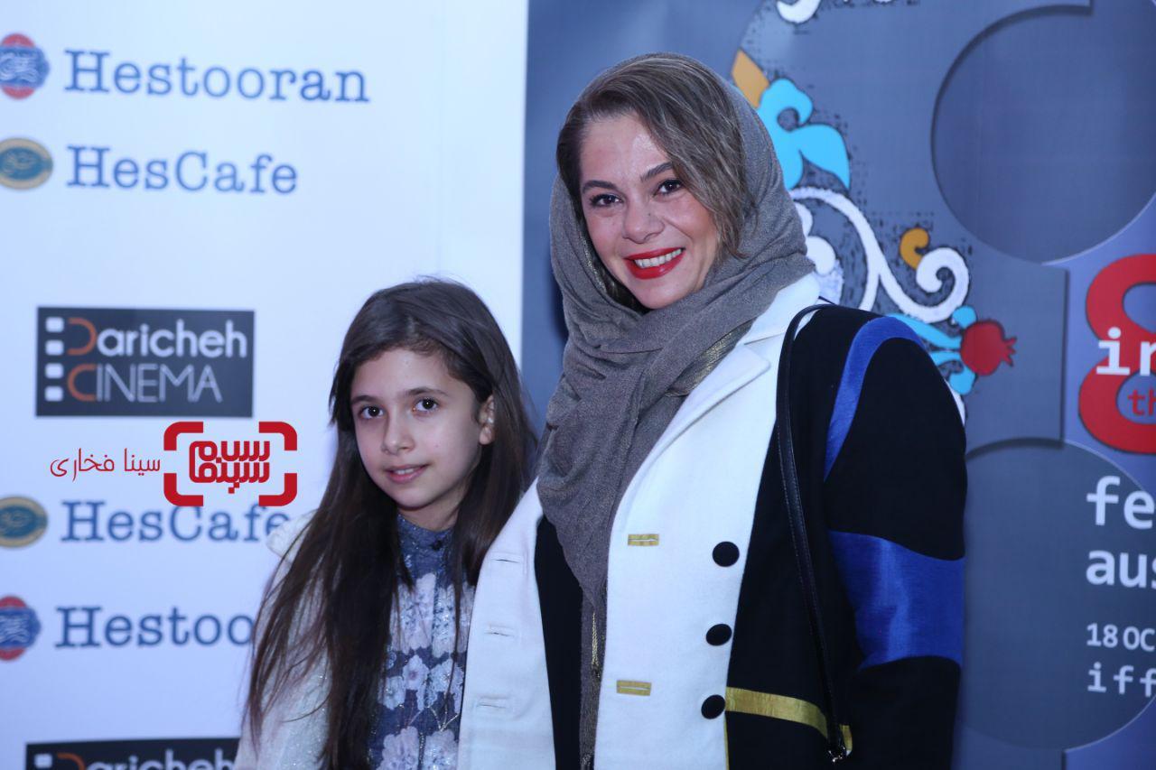 عکس مستانه مهاجرو دخترش، نفس بازغی در هشتمین جشنواره فیلمهای ایرانی استرالیا