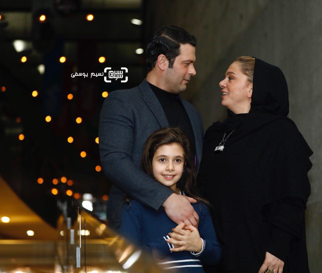 15 عکس برتر جشنواره فیلم فجر از قاب نسیم یوسفی/ مستانه مهاجر و پژمان بازغی و دخترشان