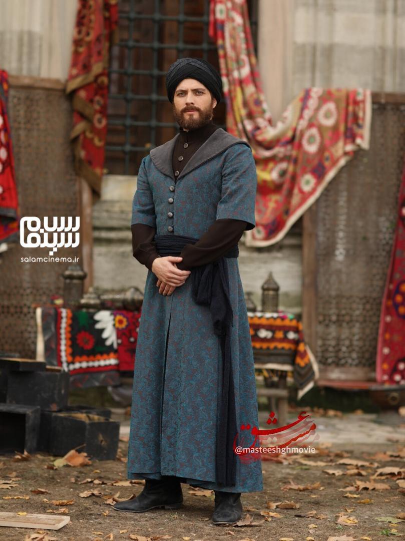 بوراک توزکوپاران در نقش سلطان ولد فرزند بزرگ مولانا