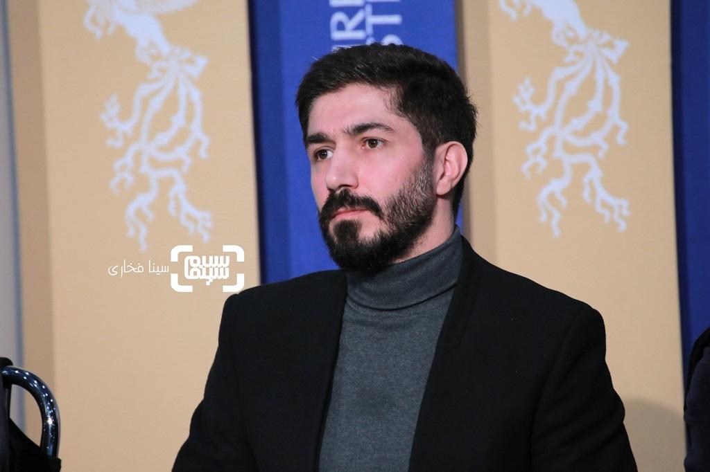 مهدی نصرتی - گزارش تصویری - نشست خبری فیلم «لباس شخصی» - جشنواره فیلم فجر 38