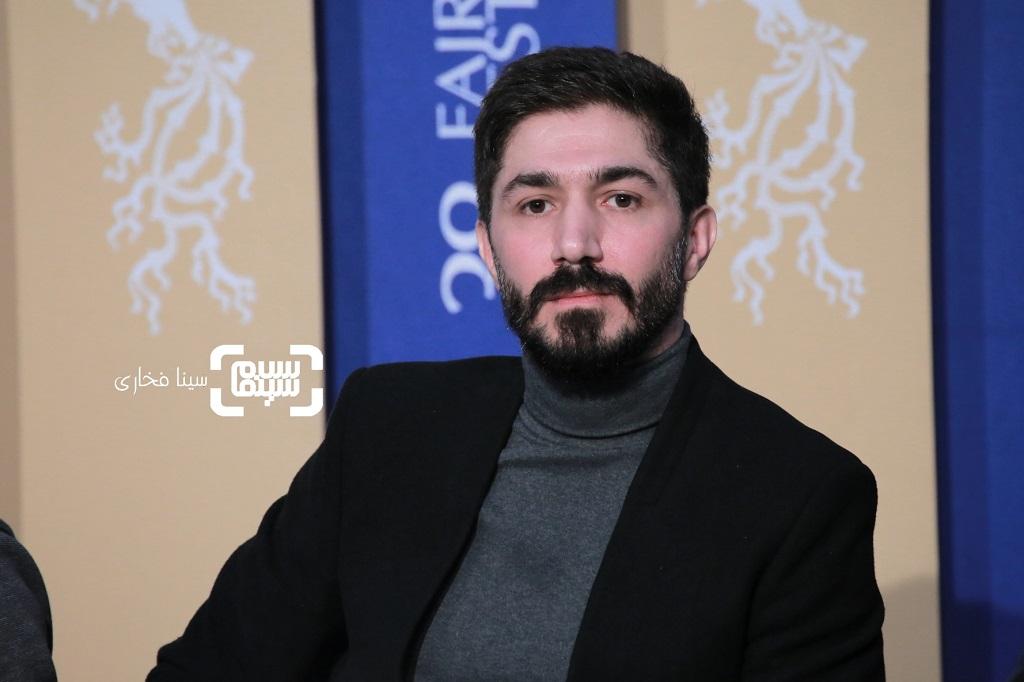 مهدی نصرتی - گزارش تصویری - نشست خبری «لباس شخصی» - جشنواره فجر 38