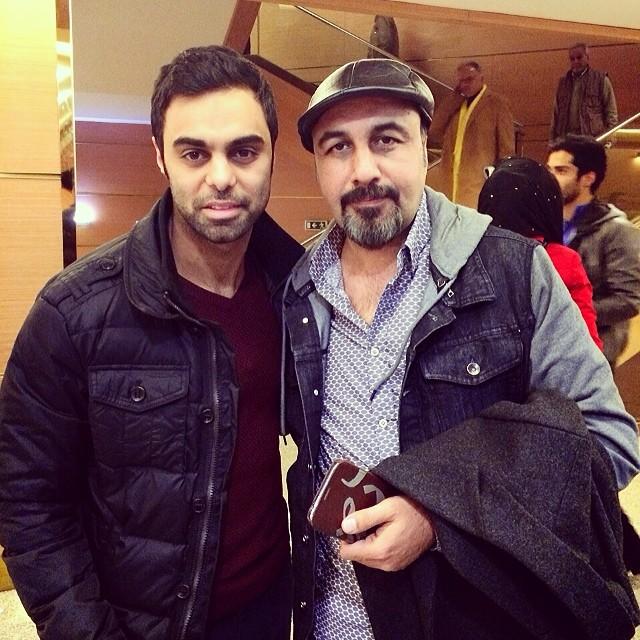 مهدی ماهانی و رضا عطاران در سی و دومین جشنواره فیلم فجر