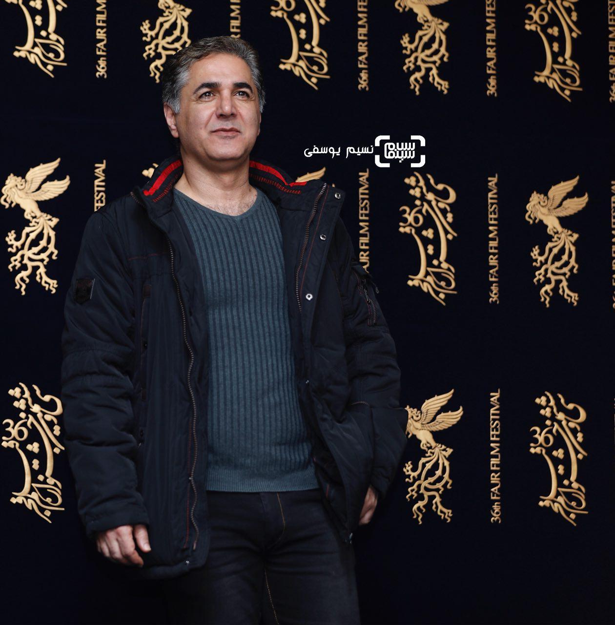 مهدی صبایی در اکران فیلم «ماهورا» در سی و ششمین جشنواره فیلم فجر