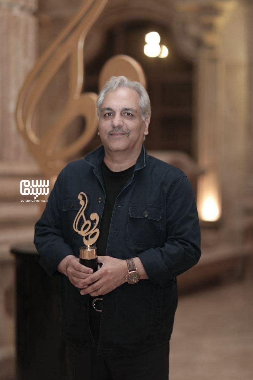 مهران مدیری در بیستمین جشن حافظ