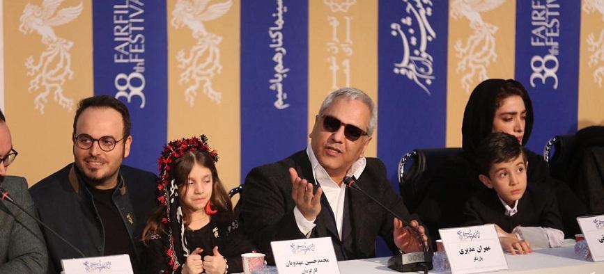 توضیحات مهران مدیری در مورد عینک حاشیه سازش + ویدیو