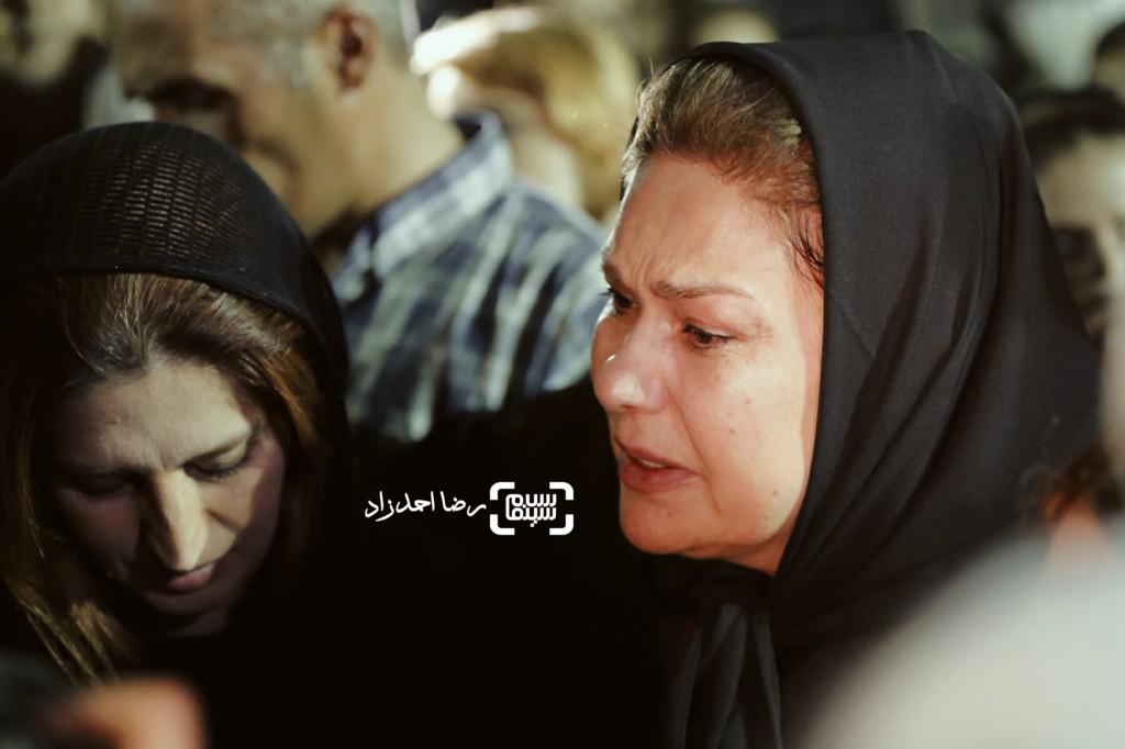 مهرانه مهین ترابی در مراسم یادبود عباس کیارستمی