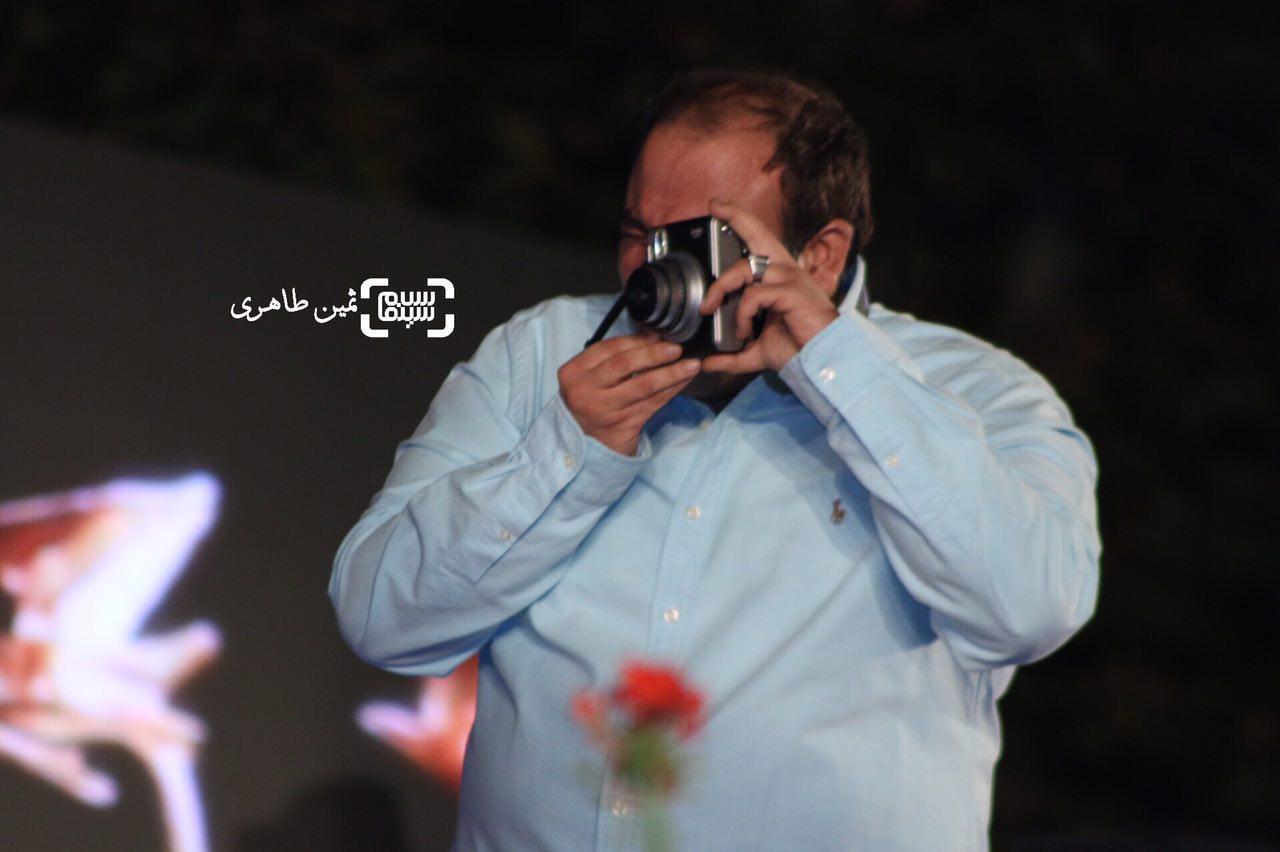 مهران غفوریان در جشن خانه سینما