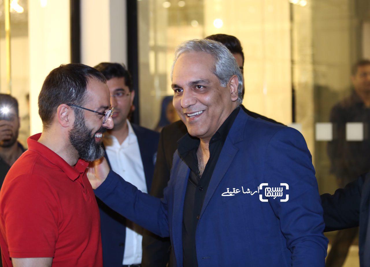 مهران مدیری در افتتاحیه آمفی کافه