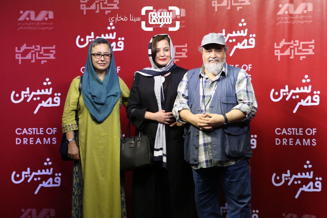 عکس مهراوه شریفی نیا آزیتا حاجیانومحمدرضا شریفی نیا در اکران خصوصی فیلم «قصر شیرین»