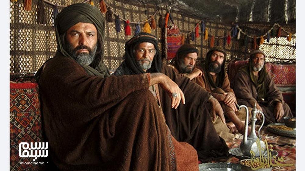 فریبزر عرب نیا در سیاه چادر در مختارنامه- به یادماندنی ترین سریال های محرم تلویزیون ایران