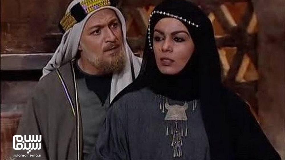 امین تارخ و سارا خویینی ها در لباس تاریخی در معصومیت از دست رفته- به یادماندنی ترین سریال های محرم