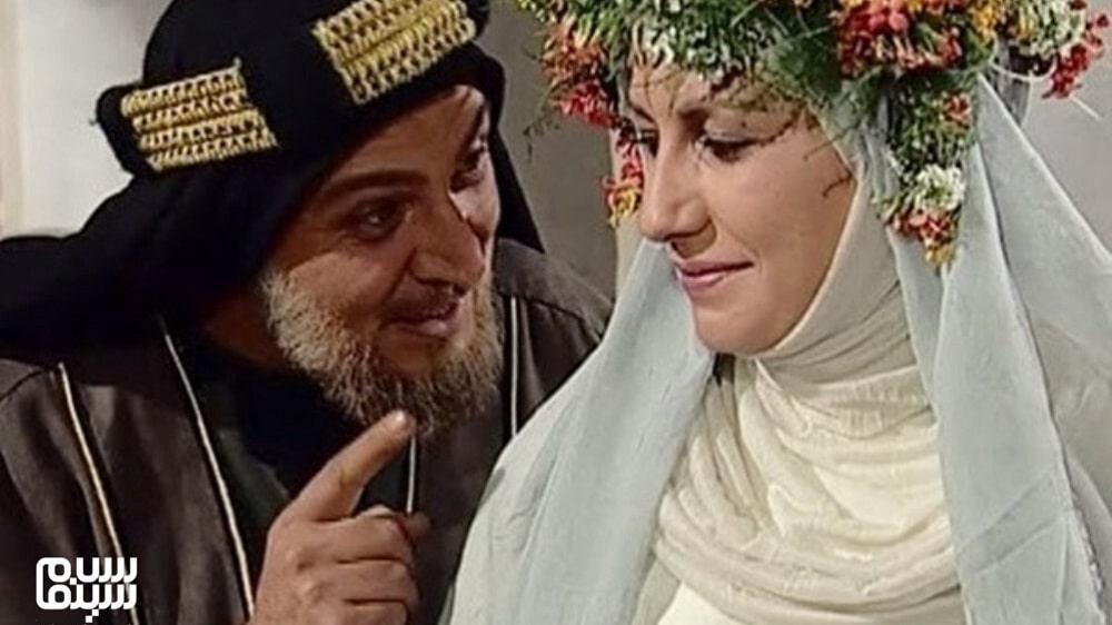 امین تارخ و فریبا کوثری خندا در عروسی- به یادماندنی ترین سریال های محرم